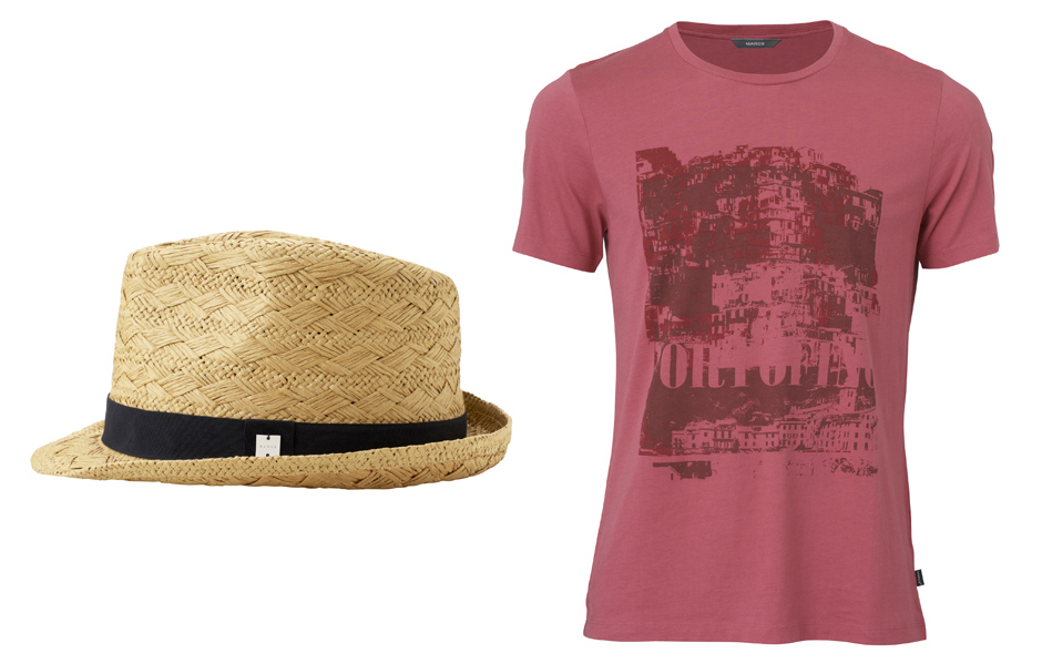 5 Marcs Mens Hat t-shirt